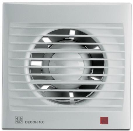 Купить Вентилятор SOLER&PALAU Decor 100CH 95 м3/ч. Установочный д 100 мм. 40 dB(A), белый