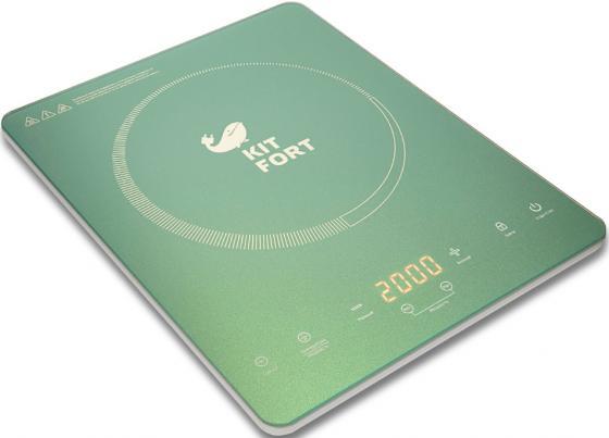 Плитка электрическая KITFORT КТ-110-3 Ultra Slim индукционная 2000Вт 370х290x38мм parkcity ultra slim new 420 110