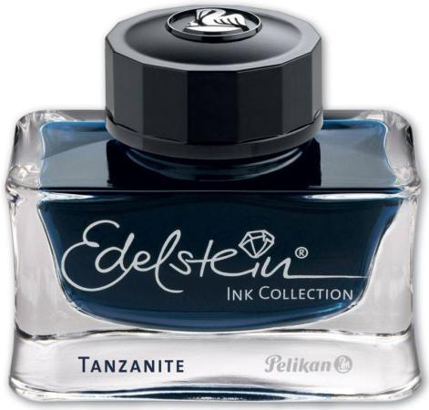Флакон с чернилами Pelikan Edelstein EIBS (339226) Tanzanite чернила темно-синие чернила 50мл для ручек перьевых