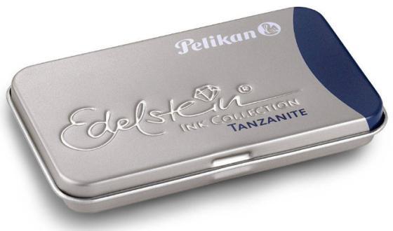 Картридж Pelikan Edelstein EIBST6 (339689) Tanzanite чернила для ручек перьевых (6шт)