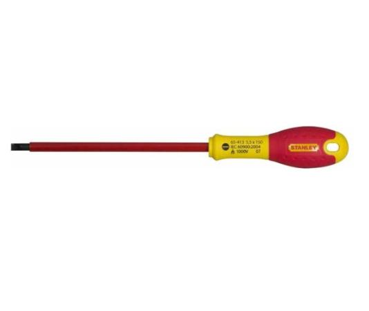 Отвертка STANLEY FATMAX 0-65-413 электрика 1000V 5,5*150мм цена