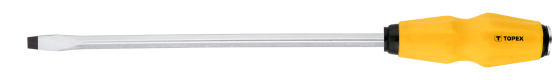 Отвертка ударная TOPEX 39D255 шлицевая 8.0x250мм отвертка topex 39d403