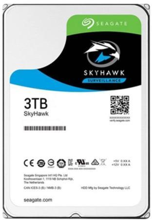 "Жесткий диск 3.5"" 3 Tb 5400rpm 256Mb cache Seagate Skyhawk ST3000VX009 SATA III 6 Gb/s цена"