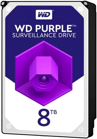 купить Жесткий диск WD Original SATA-III 8Tb WD81PURZ Purple (5400rpm) 256Mb 3.5