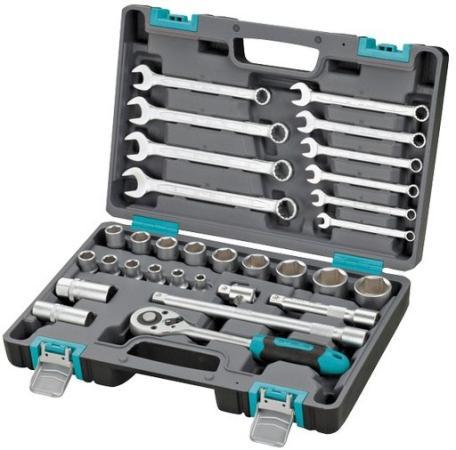 Набор инструментов STELS 14102 1/2 CrV пластиковый кейс 31 предм. набор инструментов stels 14102