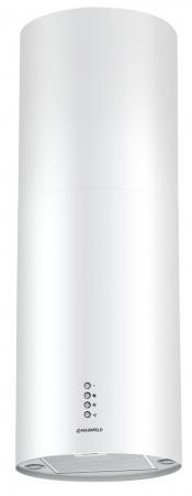 Вытяжка каминная Maunfeld Lee Wall 35 WHITE белый вытяжка каминная maunfeld tower round 50 white белый