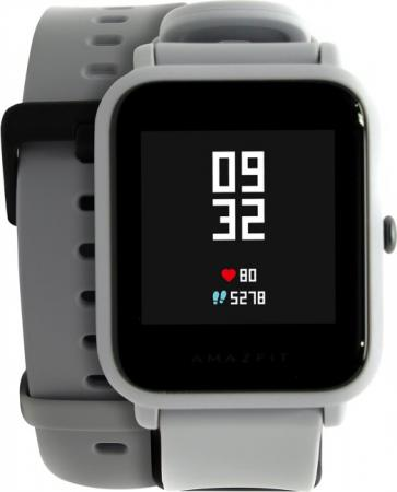 Xiaomi Amazfit Bip White Cloud (UYG4024RT) умные часы xiaomi huami amazfit bip gray white cloud