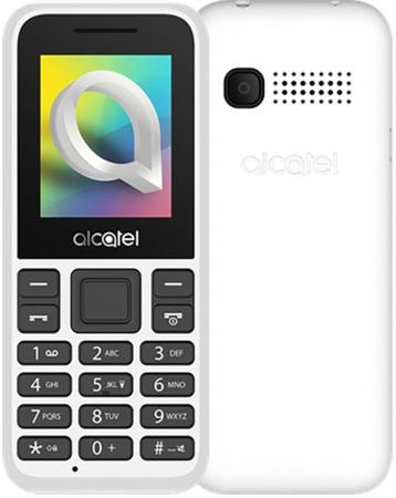 Мобильный телефон Alcatel 1066D белый 1.8 мобильный телефон alcatel 1054d белый 1054d 3balru1