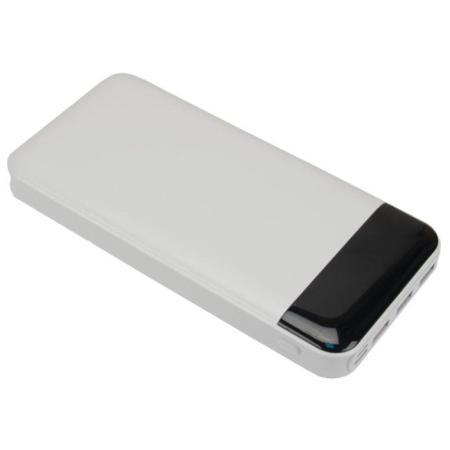 Continent PWB200-971WT Аккумулятор внешний портативный, 20000mAh,Quick Charge 3.0, белый внешний аккумулятор samsung eb pg930bbrgru 5100mah черный
