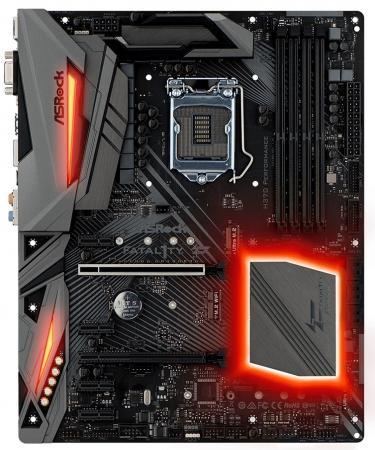Материнская плата ASRock H370 PERFORMANCE Socket 1151 v2 H370 4xDDR4 2xPCI-E 16x 4xPCI-E 1x 6 ATX Retail цена и фото