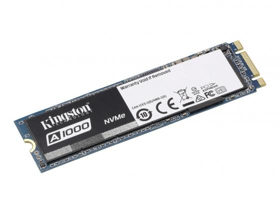 Жесткий диск для компьютера M.2 240 Gb Kingston SA1000M8/240G Read 1500Mb/s Write 800Mb/s 3D NAND TLC