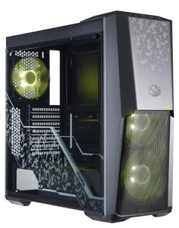 Корпус ATX Cooler Master MasterBox MB500 TUF Edition Без БП чёрный MCB-B500D-KGNN-TUF корпус miditower atx w o psu mcb e500lka5ns01 cooler master