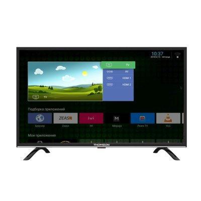 Плазменный телевизор 43 Thomson T43FSL5130 черный 1920x1080 50 Гц Wi-Fi Smart TV WiDi 140f1142 devireg smart интеллектуальный с wi fi бежевый 16 а