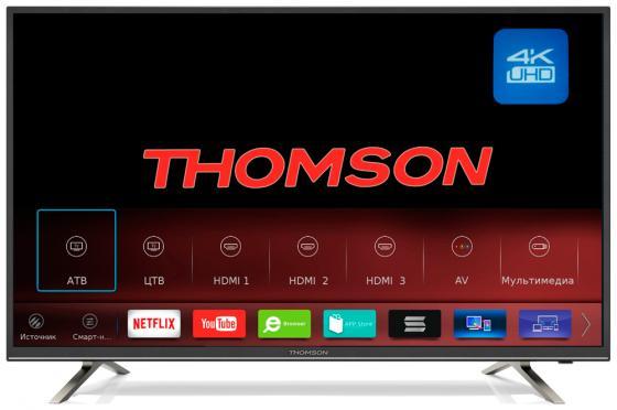 Телевизор LCD 65 4K T65USM5200 THOMSON телевизор 65 thomson t65usm5200 4k uhd 3840x2160 smart tv черный
