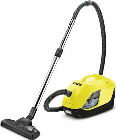 Пылесос Karcher DS 6 EU сухая уборка жёлтый чёрный 1.195-220.0 пылесос с аквафильтром karcher ds 6 1 195 220 0