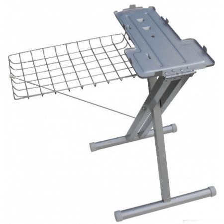 Стойка пресса VLK Verono Stand 3050, для VLK Verono 3200, регул. высоты, металл, серебристый оверлок kromax vlk napoli 2900
