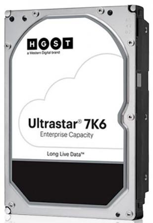 Жесткий диск SATA 4TB 7200RPM 6GB/S 256MB 7K6 0B36040 HGST жесткий диск 3 5 4tb 7200rpm hgst ultrastar 7k6000 sataiii hus726040ale614 0f23025