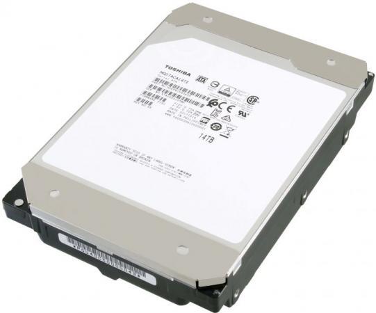 Жесткий диск SATA 14TB 7200RPM 6GB/S 256MB MG07ACA14TE TOSHIBA жесткий диск seagate original sata iii 14tb st14000vn0008 ironwolf 7200rpm 256mb 3 5