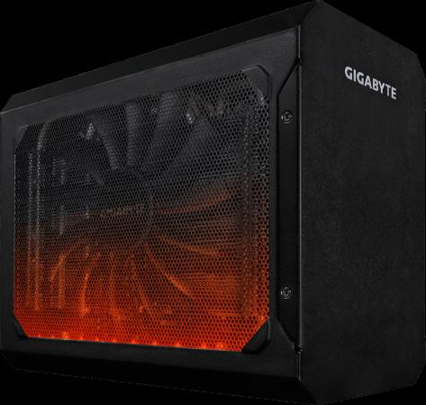 Видеокарта GigaByte Radeon RX 580 RX 580 Gaming Box PCI-E 8192Mb GDDR5 256 Bit Retail GV-RX580IXEB-8GD видеокарта gigabyte 8192mb rx 580 gv rx580gaming 8gd 3xdp hdmi dvi ret