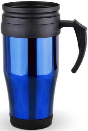450DXM-2-R Термокружка Diolex (0,45л) нжс+пластик, двойн.стенки, (цвет: синий, красный)