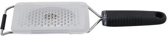 21-Cook Терка с ручкой Endever, нерж сталь,крышка в комплекте, для средней стружки терка четырехгранная endever cook 19