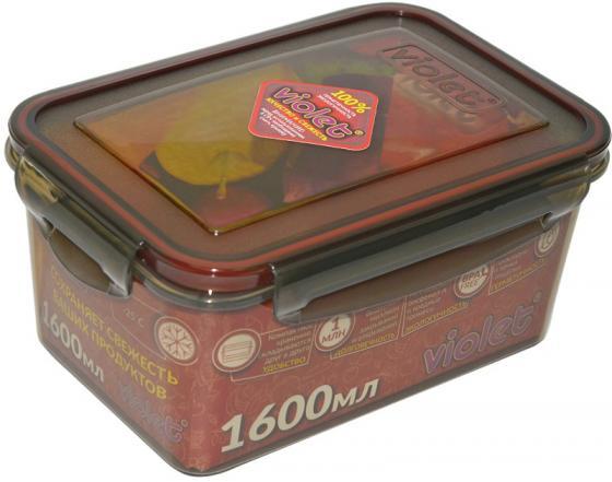 цена на Контейнер Violet 093/161 дымчатый 1600 мл