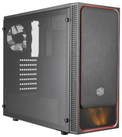 Корпус MIDITOWER ATX W/O PSU MCB-E500LKA5NS01 COOLER MASTER корпус cooler master elite 120 advanced black rc 120a kkn1 w o psu