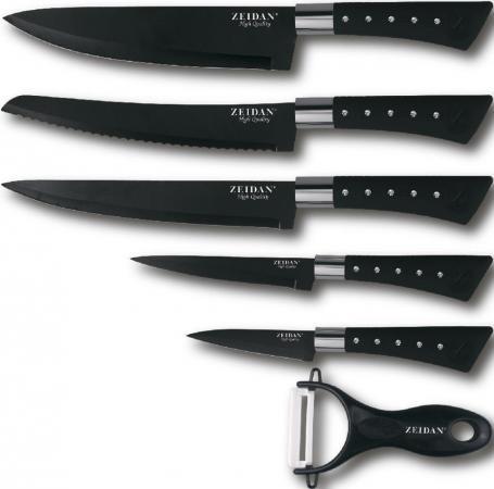 Набор ножей Zeidan Z-3090 черный raymond weil часы raymond weil 1600 sts 00618 коллекция shine page 6
