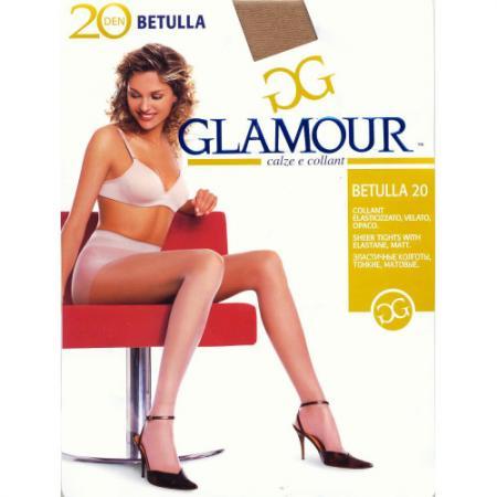 Glamour Колготки Betulla 20 Daino, 5 glamour колготки betulla 40 nero 5