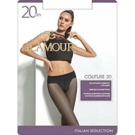 Glamour Колготки Couture 20 Miele, 4 колготки glamour glamour gl302fwgjs11