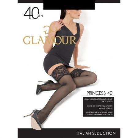 Glamour Чулки Princess 40 Aut Daino, 2 glamour гольфы symphony 20 daino