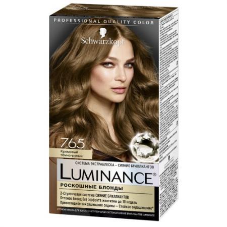 Luminance Color Краска для волос 7.65 Кремовый темно-русый 165 мл перманентное окрашивание schwarzkopf brillance 820 цвет 820 холодный темно русый variant hex name 9d7e5b