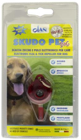 Ультразвуковой отпугиватель Moser ScudoPet OKAP01BR-B01 от комаров, клещей для собак