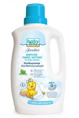 Кондиционер для детских вещей Babyline Sensitive 1 л детские моющие средства kodomo кондиционер для детских вещей мягкая упаковка 800 мл
