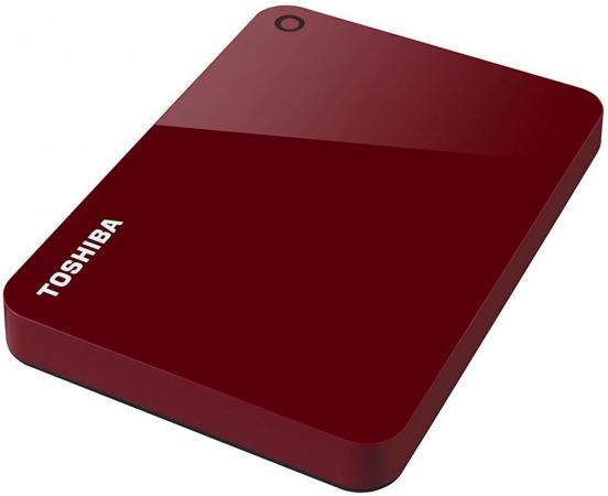 Внешний жесткий диск USB3 1TB EXT. 2.5 RED HDTC910ER3AA TOSHIBA jonsbo c2 desktop mini pc computer case usb3 0 small chassis in aluminum alloy red c2s htpc itx high quilty