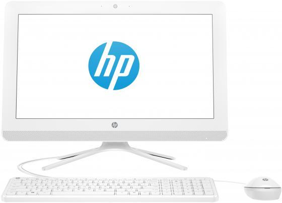 "Моноблок HP 20 20-c400ur <4GU01EA> E2-9000(1.8GHz)/4GB/500Gb/DVD-RW/19.5"" (1600*900)/WiFi/KB+mouse/DOS/Snow White цена и фото"