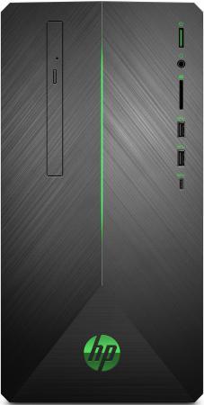 Компьютер HP Pavilion Gaming 690-0011ur AMD Ryzen 2600 16 Гб 1Tb + 128 SSD nVidia GeForce GTX 1060 6144 Мб Windows 10 Home 4JU45EA компьютер