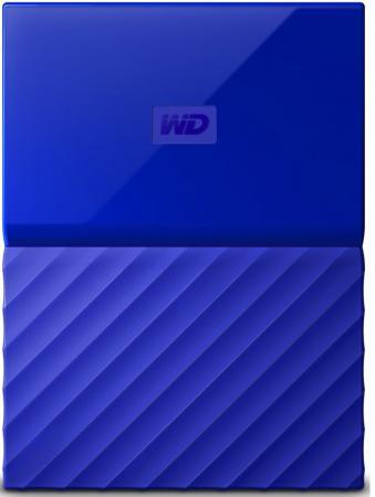 Внешний жесткий диск 2Tb WD WDBLHR0020BBL-EEUE Blue (USB3 , 2.5) цена и фото