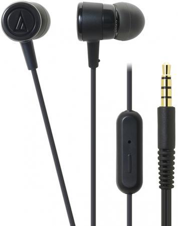 Наушники AUDIO-TECHNICA ATH-CKL220iS BK вставные цена