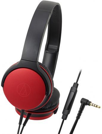 Наушники AUDIO-TECHNICA ATH-AR1ISRD Дуговые закрытого типа наушники audio technica ath pro5mk3 black