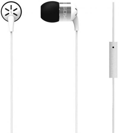 Наушники KOSS KEB25iW White (микрофон,вставные,1,2м) цена