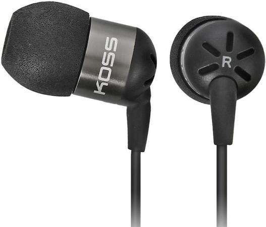 Наушники KOSS KEB25iK Black (микрофон,вставные,1,2м)