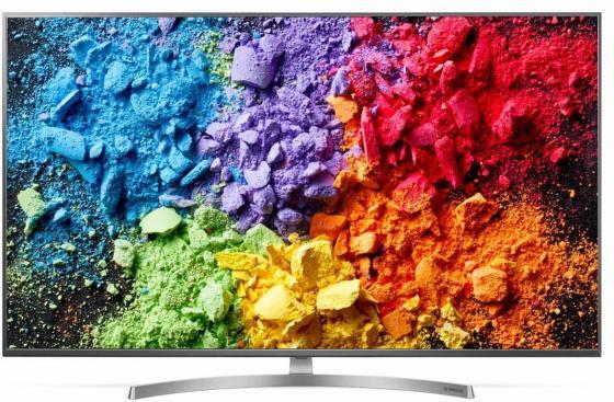 Телевизор LED 75 LG 75SK8100 черный 3840x2160 100 Гц Wi-Fi USB HDMI LAN lg lg 49uh651v 49 черный 3840x2160 есть вход hdmi 49 черный 3840x2160 есть вход hdmi