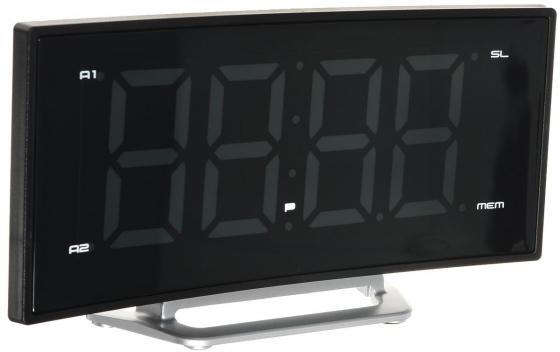 купить Часы с радиоприёмником Max CR-2906w белый чёрный по цене 1990 рублей