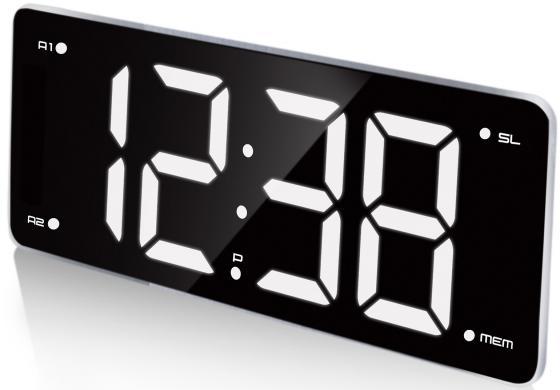 цена на Часы с радиоприёмником Max CR-2911 чёрный