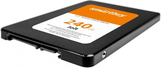 Твердотельный накопитель SSD 2.5 240 Gb Smart Buy SB240GB-JLT-25SAT3 Read 550Mb/s Write 320Mb/s TLC