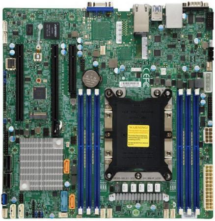 Материнская плата Supermicro MBD-X11SPM-F-O Socket 3647 C621 6xDDR4 2xPCI-E 16x 1xPCI-E 8x 12 mATX Retail материнская плата supermicro mbd x10sle f p socket 1150 c224 4xddr3 1xpci e 8x 4xsataiii нестандартный