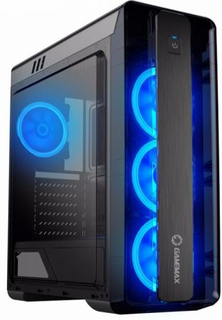 GameMax Корпус MoonLight-B-Blue (без БП) цена и фото