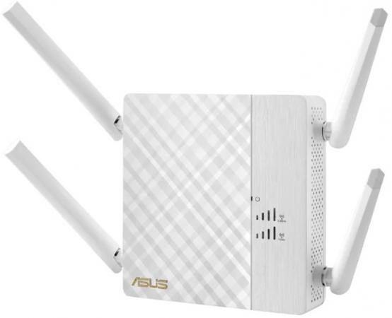 Усилитель сигнала ASUS RP-AC87 802.11abgnac 1734Mbps 5 ГГц 2.4 ГГц 1xLAN LAN белый