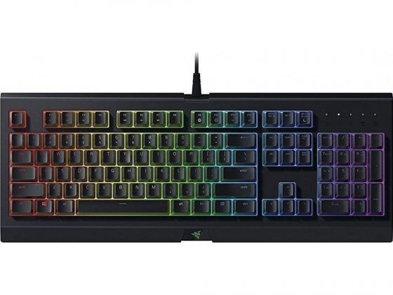 Клавиатура Razer Cynosa Chroma игровая клавиатура razer blackwidow chroma v2 yellow switch